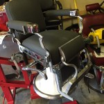 Chrome plating, new upholstery and hydraulics