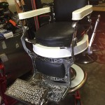 Fully restored barber shop chair