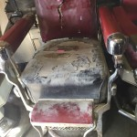 Barber Shop Chair in need of a full restoration