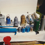 various hydraulic jacks repaired